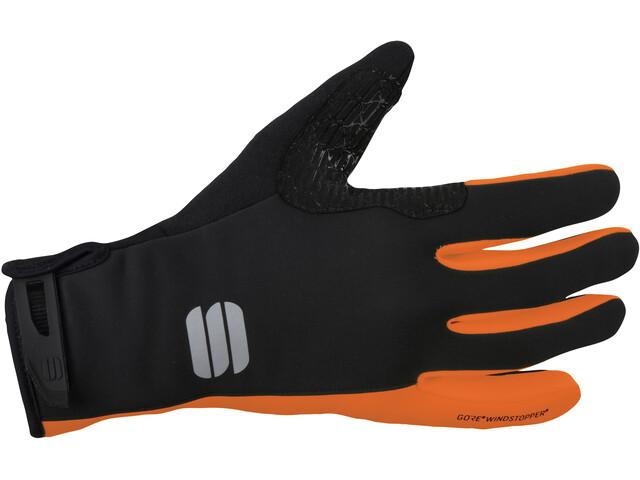 Sportful Essential 2 Handschoenen, black/orange sdr